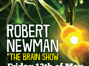 Rob Newman's 'The Brain Show' – YCND Benefit!