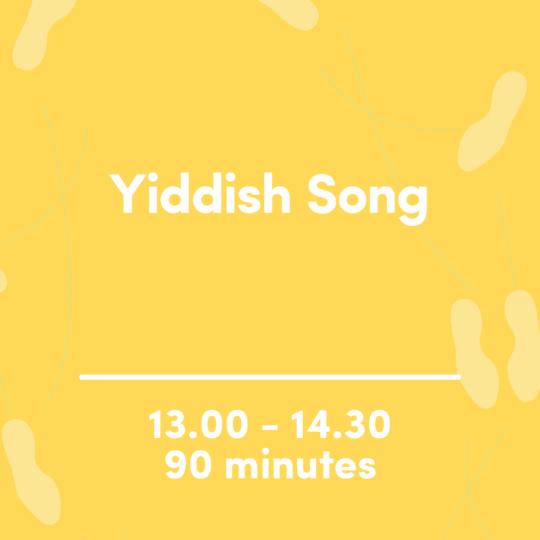 Yiddish Song image