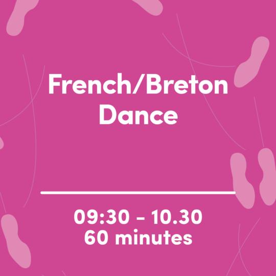 French Breton dance image