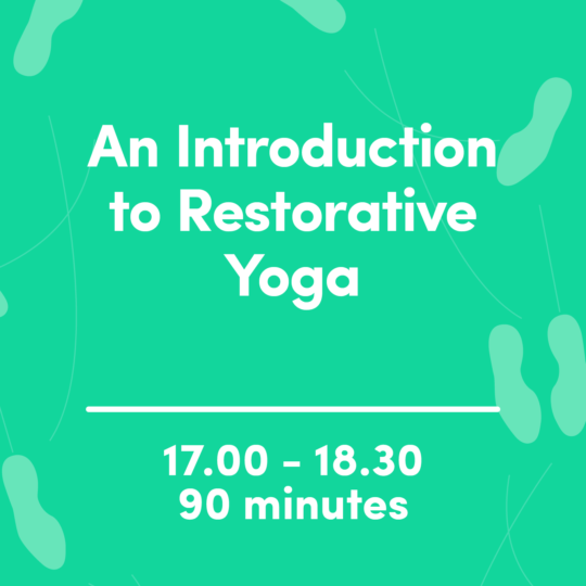 An Introduction to Restorative Yoga image