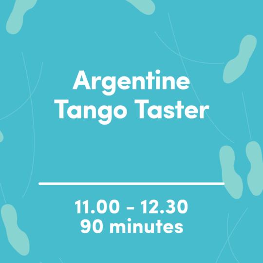Argentine Tango Taster