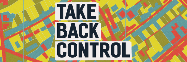 Take back control logo