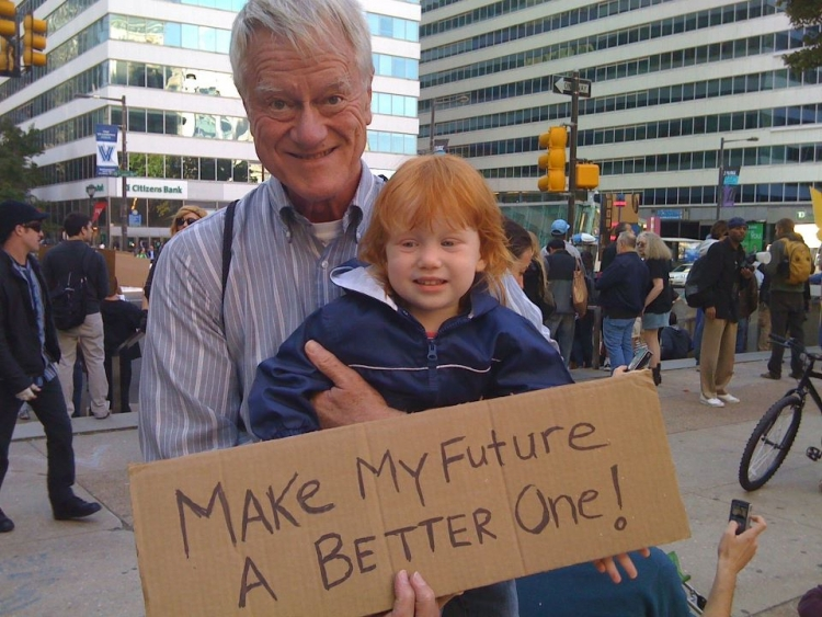 George Lakey at Occupy Philly