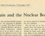 Photo of Britain and ht Nuclear Bombs article