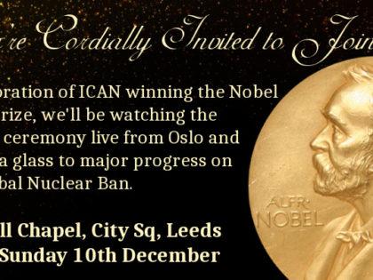 Nobel Peace Prize Celebration, Leeds