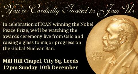 Nobel Prize celebration invite