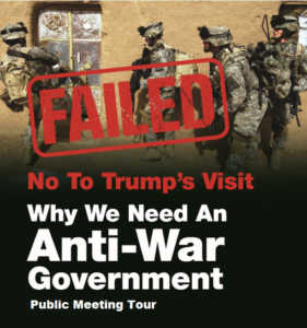 Anti-war government poster