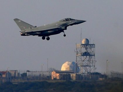The Role of UK Bases in the Syria Bombing