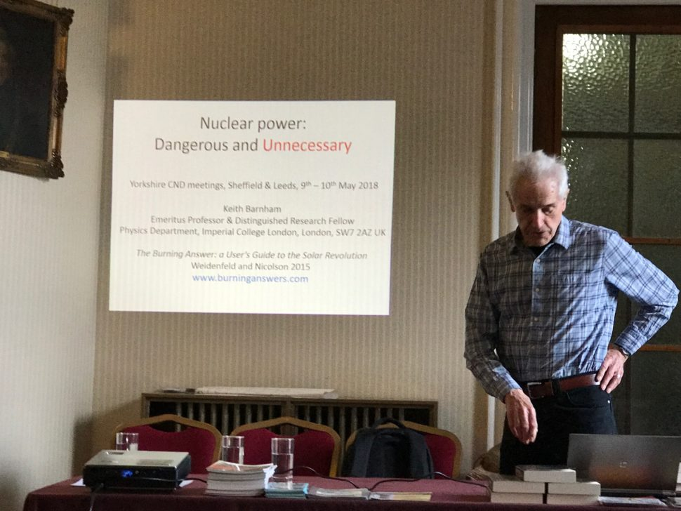 Prof Keith Barnham