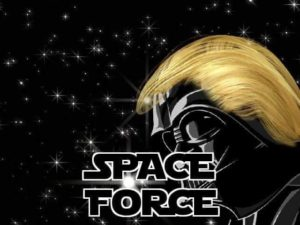 Darth Trump: From Space Force to Star Wars