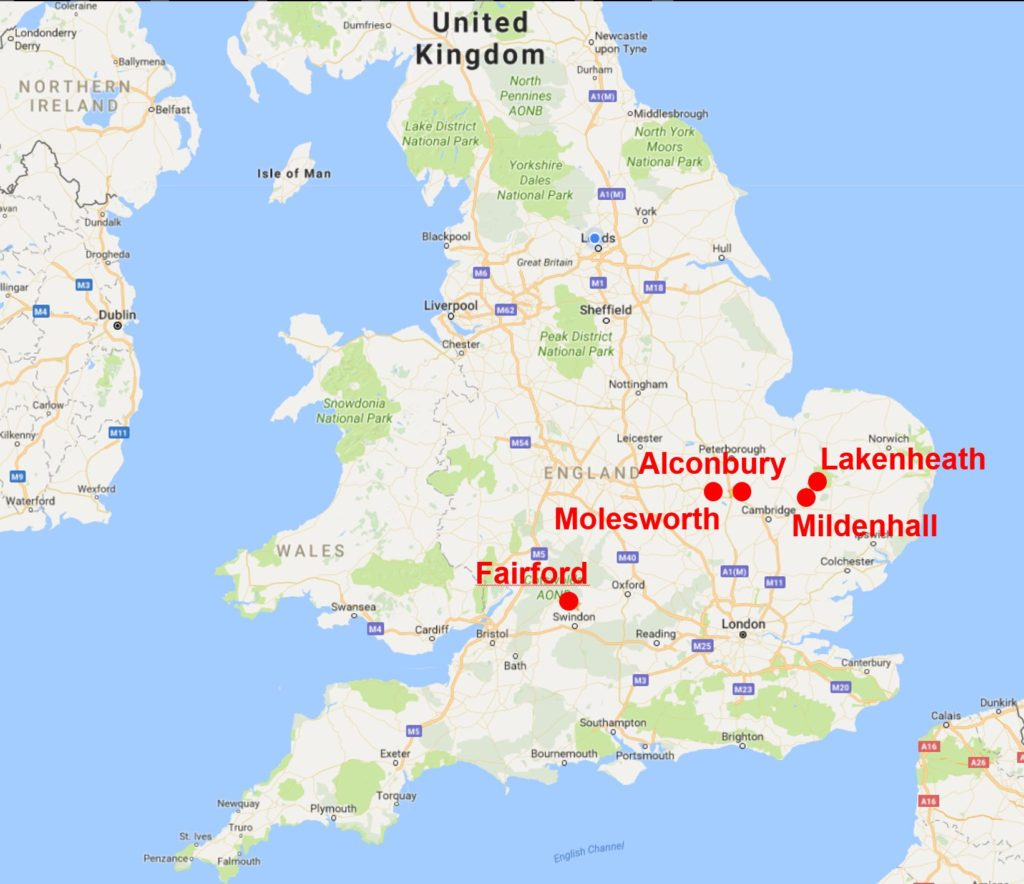 US Military Bases in the UK – Yorkshire Campaign for Nuclear