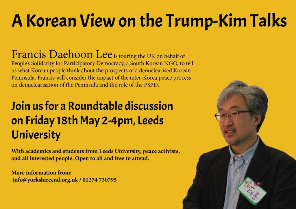 Korean View - Leeds