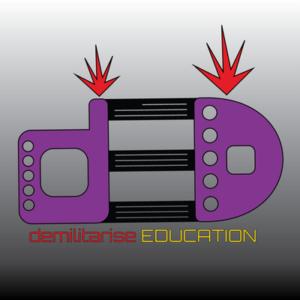 DemilitariseEducation logo