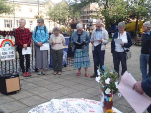 Keighley Hiroshima Vigil Report