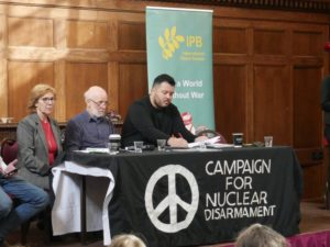Report from CND AGM and IPB International Conference