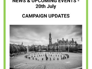 Newsletter 20th July