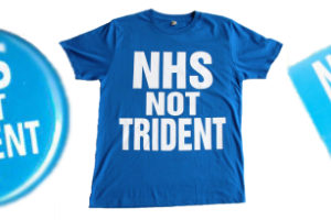 NHS Birthday 5th July – time to say NHS NOT Trident!