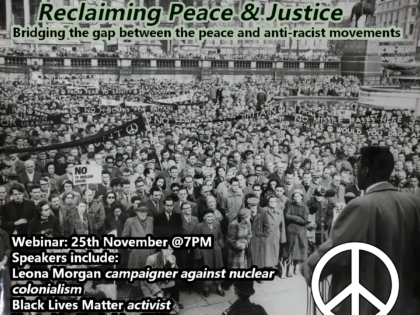 Reclaiming Peace & Justice webinar