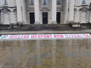 Leeds City Council declares its support for the Nuclear Ban Treaty!