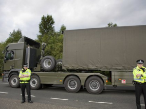 Nuclear Weapon Convoy Traffic Intensifies as UK Announces Warhead Increase