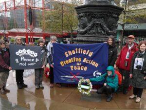 International Conscientious Objectors Day – Sheffield Cenotaph