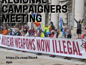 Regional Campaigners Meeting Action Points